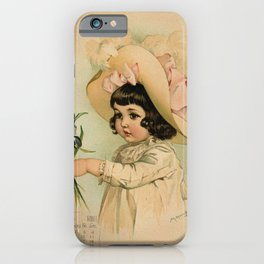 French Girl Maud Humphrey iPhone Case
