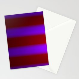 Shimmering Neon Lights. Purple and Garnet Red. Stationery Cards