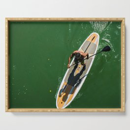 Paddle Surf Serving Tray