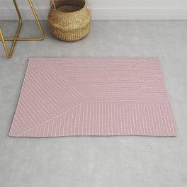 Lines (Dusty Lilac) Rug