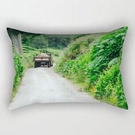 Le tracteur (Azores) Rectangular Pillow