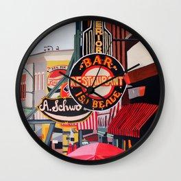 Sign City Wall Clock