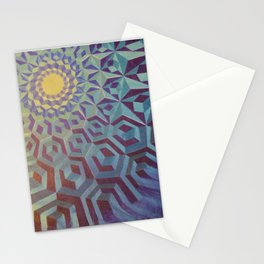 Moonlight Wave Stationery Cards