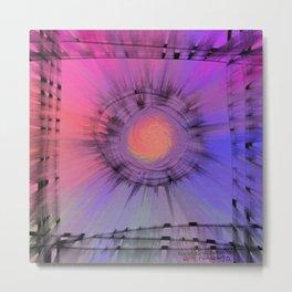 Nucleus-of-Optimism Metal Print