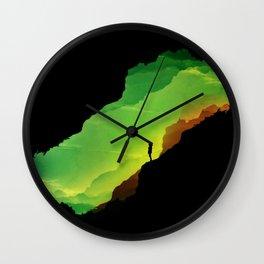 Toxic ISOLATION Wall Clock