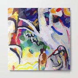 Wassily Kandinsky Eastern Suites Metal Print