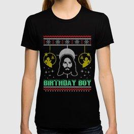 Jesus Birthday Boy Ugly Christmas Sweater Gift T-shirt