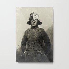 Manfred Char von Richthofen Metal Print