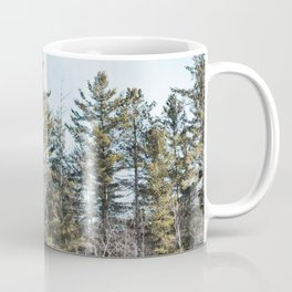 Forest in Winter in Minnesota-Landscape Photography Coffee Mug