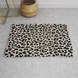 Tan Leopard Rug