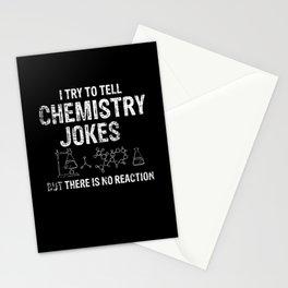 Chemistry Reaction Stationery Cards