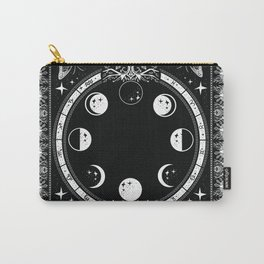Astrological Moon Phase Magical Witchy  Carry-All Pouch