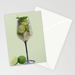 Mojito Lemon Cocktail Drink Stationery Cards