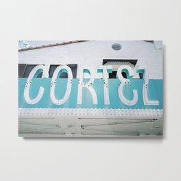 Cortez Metal Print