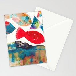 I Catch Eight Fish, Splash  Splash Splash Stationery Cards