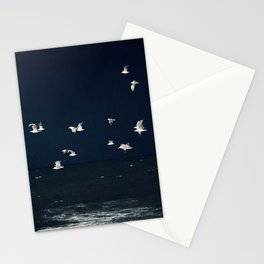 Sea - Evening Flight Stationery Cards