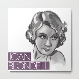 1930s Joan Metal Print