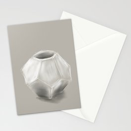 Dodecahedron Planter Stationery Cards