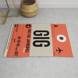 GIG Rio De Janeiro Luggage Tag 2 Rug