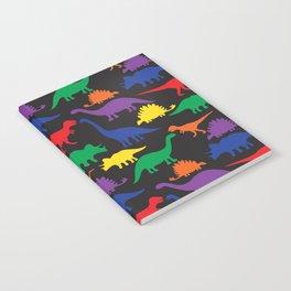 Dinosaurs - Black Notebook