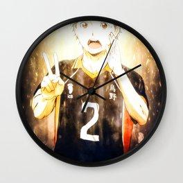 Haikyuu Sugawara Koushi Wall Clock