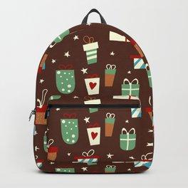 chrismas pattern Backpack