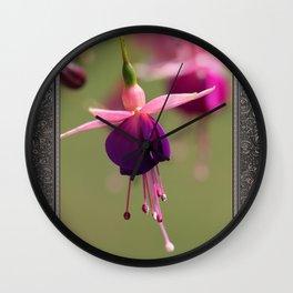 Fuchsia named Lambada Wall Clock
