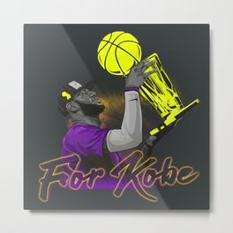 THIS IS FOR YOU KB 24 Metal Print