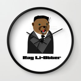 Ray Li-Otter Wall Clock