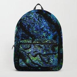 Tree of Knowledge Wisdom & Light Blue Green Backpack