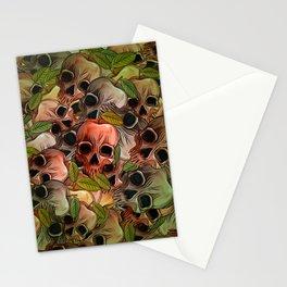 Apple Skull Stationery Cards