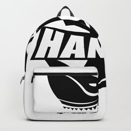 Hangry Shark Funny Backpack