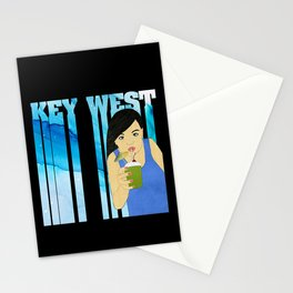 Drink Up in Key West Stationery Cards