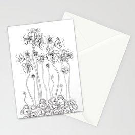 Floral Flytraps Stationery Cards
