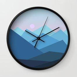 Landscape NC 01 Wall Clock