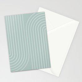 Minimal Line Curvature VII Stationery Cards