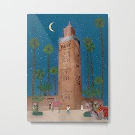 Marrakech Night Metal Print