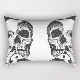 The death of me Rectangular Pillow