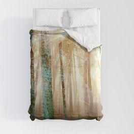 Forest Light Comforters