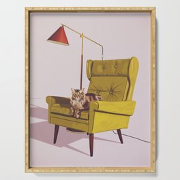 Cats on Chairs Deluxe Collection - Oscar Serving Tray