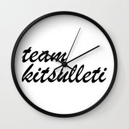 Team Kitsulleti Wall Clock