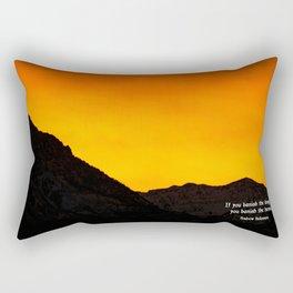 If You Banish The Dragons, You Banish The Heroes Rectangular Pillow
