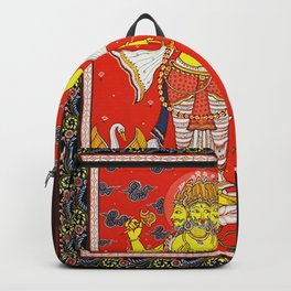 Hindu Lord Brahma 1 Backpack