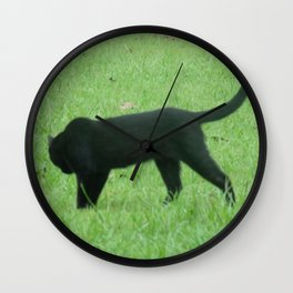 Prowling Around Wall Clock