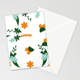 Flower Trail Stationery Cards