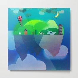 Floating Islands 2 Metal Print