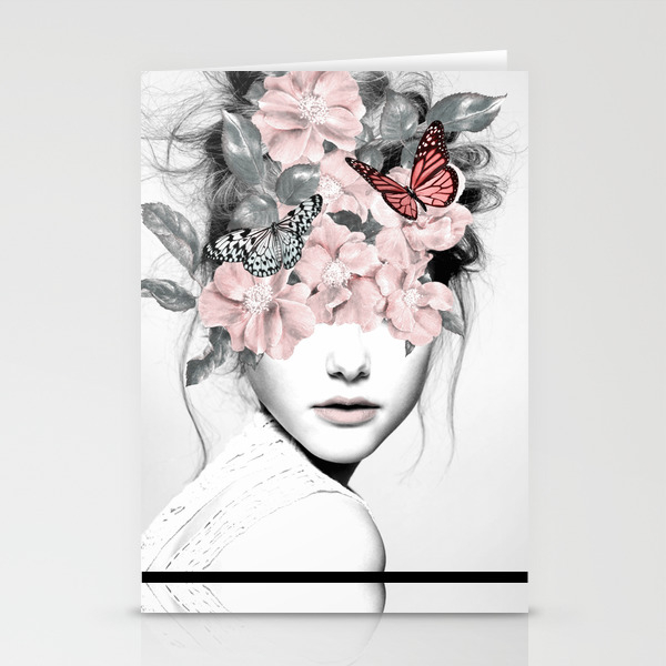Nature and people stationery cards society6 for Society 6 discount code