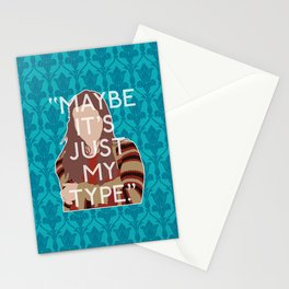 The Empty Hearse - Molly Hooper Stationery Cards
