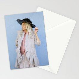My trendy hat Stationery Cards