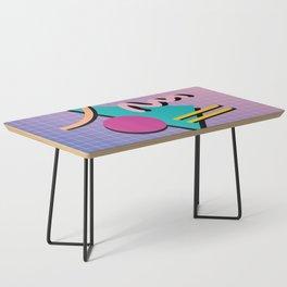 Memphis Pattern 10 - 90s - Retro Coffee Table